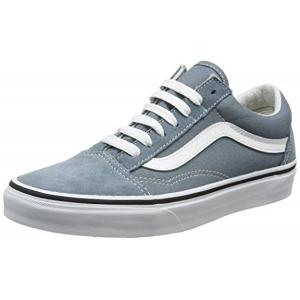 Vans Unisex Grey Old Skool Lace Up Sneakers