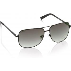 Fastrack Gray Rectangular Full Frame Sunglasses