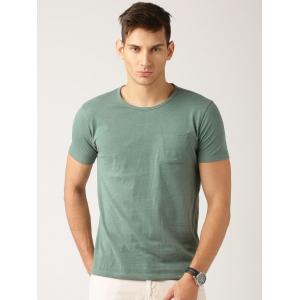 ETHER Green Melange T-shirt