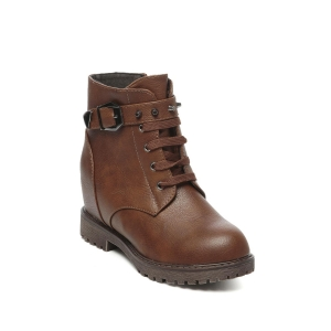 TEN brown ankle boot