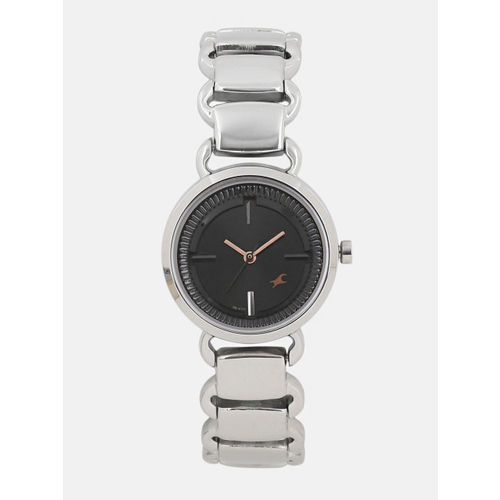 Fastrack Black Dial Women's Analog Watch - 6117SM01