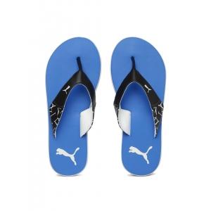 Puma Unisex Blue Synthetic Winglet Flip-Flops