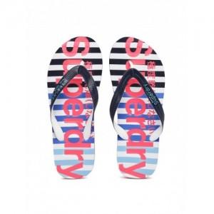 Superdry Multicolor Striped & Printed EVA Flip-Flops