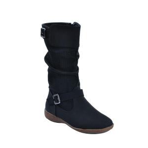 Shuberry black calf boot