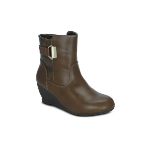 GET GLAMR brown ankle boot