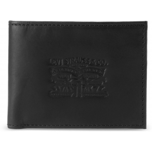 Levi's Black Genuine Leather Casual Wallet