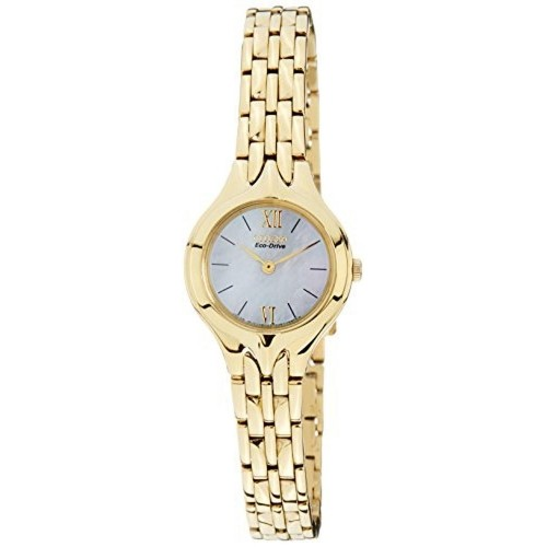 Citizen Eco-Drive Analog Mother Of Pearl Dial Women's Watch - EW9692-52D