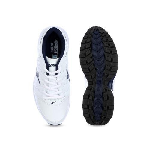Sparx Men White Running Shoes