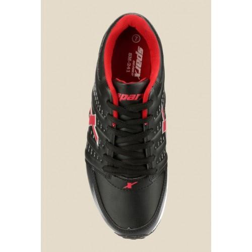 Sparx Mesh Black Running Shoes For Men