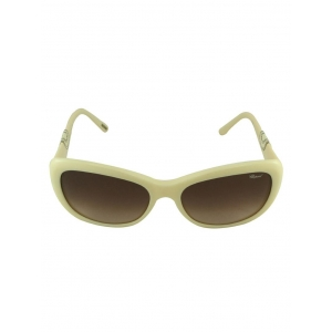 d2ece5db33a Chopard Chopard Women Cat Eye White Full Frame Acetate Sunglass  Chopard-SCH085S-03GF