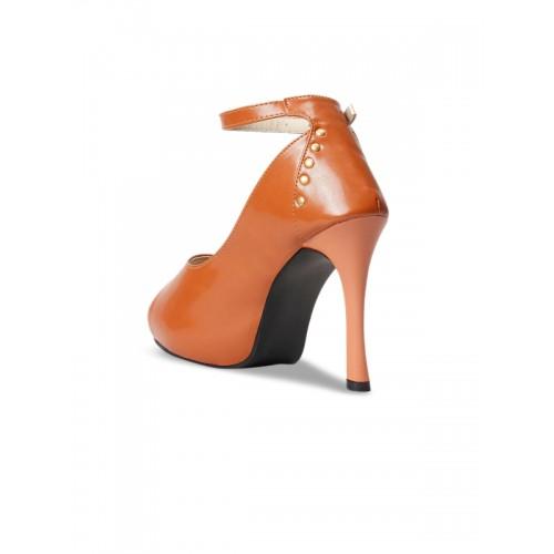 meriggiare Women Tan Solid Sandal