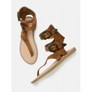 Roadster Brown Synthetic Solid Gladiators