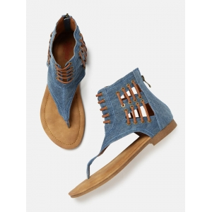 Roadster Blue Synthetic Solid Gladiators