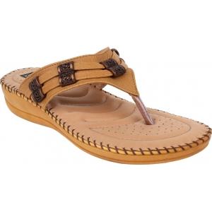 1 WALK Women Tan Flats