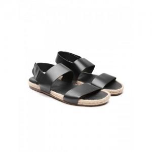 14e0f0fb3e43ff UNITED COLORS OF BENETTON Genuine Leather Espadrille Sandals