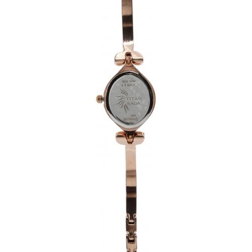 Titan NH2012WM01 Raga Rose Gold Analog Watch For Women