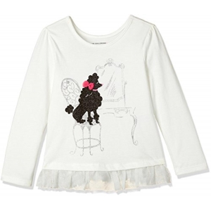 The Children's Place White Cotton Full Sleeves T-Shirt
