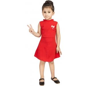 Addyvero Girls Midi/Knee Length Party Dress
