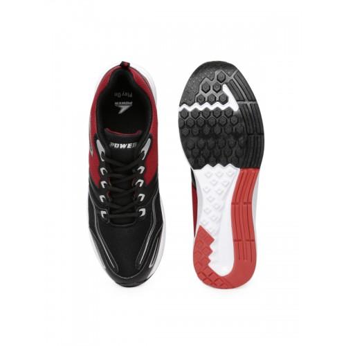 Buy Power Men Black \u0026 Red Smith Running