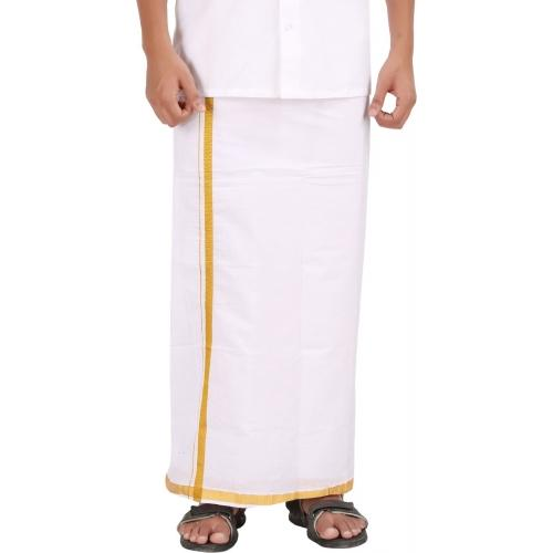 APR Brand Solid Men's Dhoti