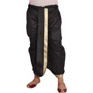 Larwa Solid Men's Dhoti