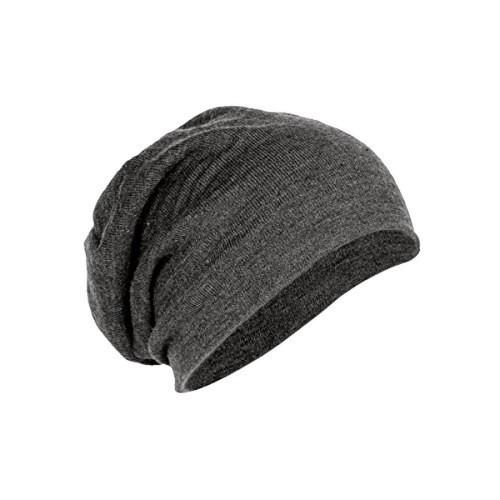 14afcc619ad Buy Gajraj Coal Grey Solid Cotton Slouchy Beanie online