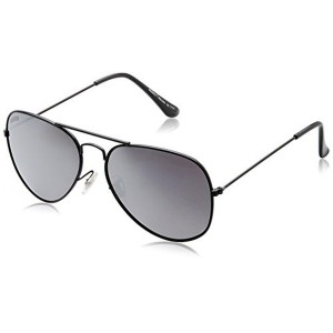 MTV Roadies Black Aviator Sunglass