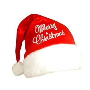 Stylla Men Women Christmas party red santa hat