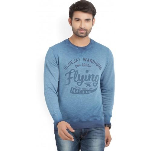 8083cc35a41c5 Buy Flying Machine Full Sleeve Printed Men's Sweatshirt online ...