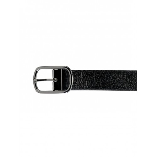 TKWD Leathers Men Black & Brown Reversible Genuine Leather Belt