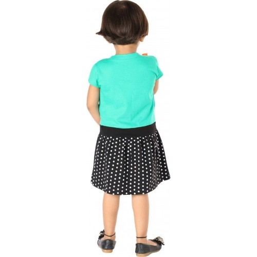 Lil Orchids Girls Midi/Knee Length Casual Dress