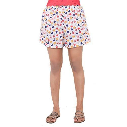 2c964f6e44 ... Twist Women / Girls Printed Comfort Night Wear Shorts (S TO XXL Plus  Size) ...