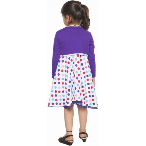 Lil Orchids Midi/Knee Length Casual Dress