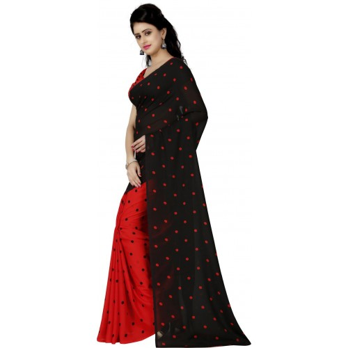 Anand Sarees Printed Daily Wear Faux Georgette Saree