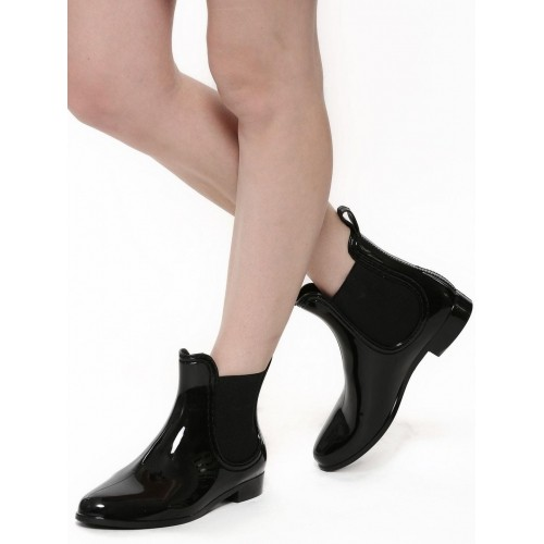 buy new look jelly flat ankle boots looksgud in