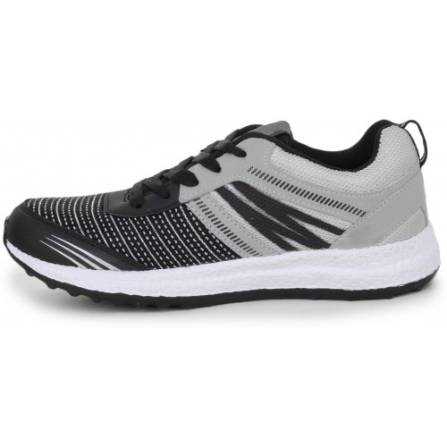 Alonzo Gray Synthetic Lace Up Running Shoes