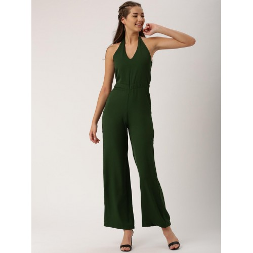 33470ab855a DressBerry Olive Green Jumpsuit  DressBerry Olive Green Jumpsuit ...