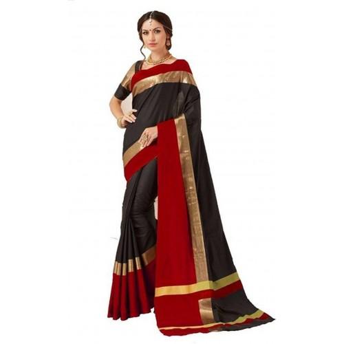 c64c19a9a Buy V J Fashion Solid Fashion Art Silk Saree online | Looksgud.in