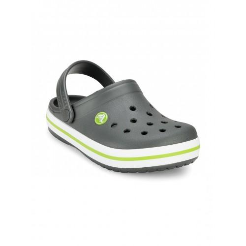 Buy Crocs Boys Charcoal Grey Clogs