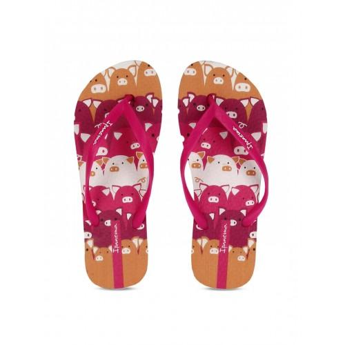 e53762214 Buy iPanema Women Pink Printed Flip-Flops online