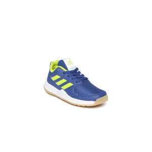Adidas Kids Blue FORTAGYM K Training Shoes