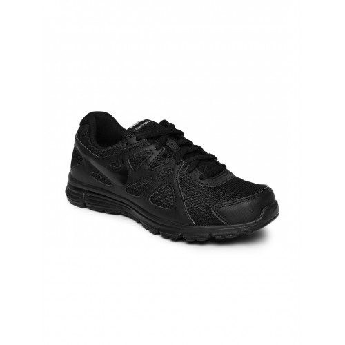 Nike Boys Black GS Running Shoes