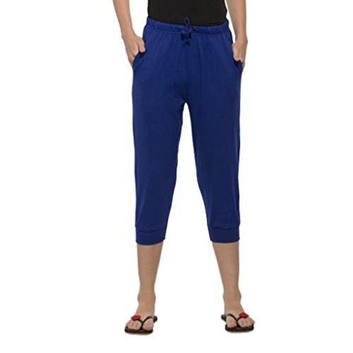 Clifton Womens Comfort Capri - Pepsi Blue