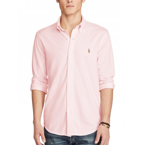 Buy Polo Ralph Lauren Knit Oxford Shirt online   Looksgud.in a2d6c05b3ecf