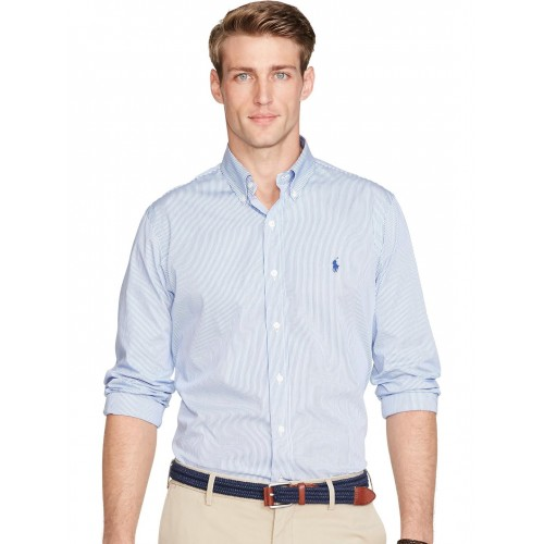 c412b315c486 Buy Polo Ralph Lauren Striped Cotton Poplin Shirt online