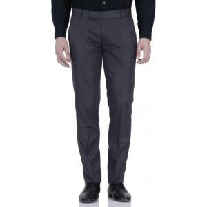 Roy Grey Slim Fit Men's Trousers