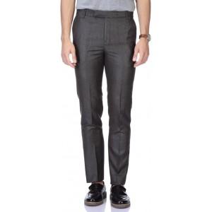 Febulous Brown Slim Fit Men's Trousers
