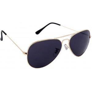 Gansta Blue Aviator Sunglasses