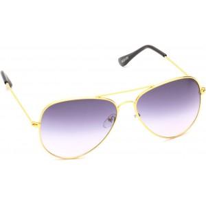 Beqube Violet Aviator Sunglasses