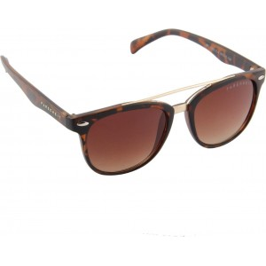Farenheit Brown Wayfarer Sunglasses